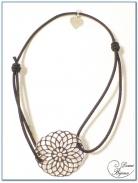 Bracelet Elastique Motif Argent Filigrane 3