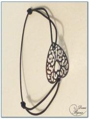 fashion elastic bracelet filigree pattern-1