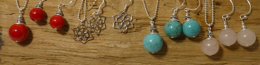 Silver Jewels Set