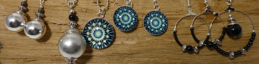 Fashion Jewells Set Silver Finition